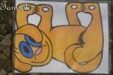 Záclonka Žlutý pes