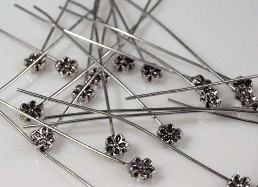 Ozdobný ketlovací nýt 55mm - kov vhodný pro výrobu šperků, naušnic, scrapbook, cardmaking, dekorace