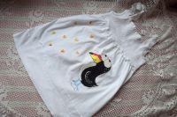 Se srdíčky - ručně malovaná tunička s tukanem veliksot 152