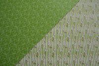 Jarní zelené pruhované- fotokarton