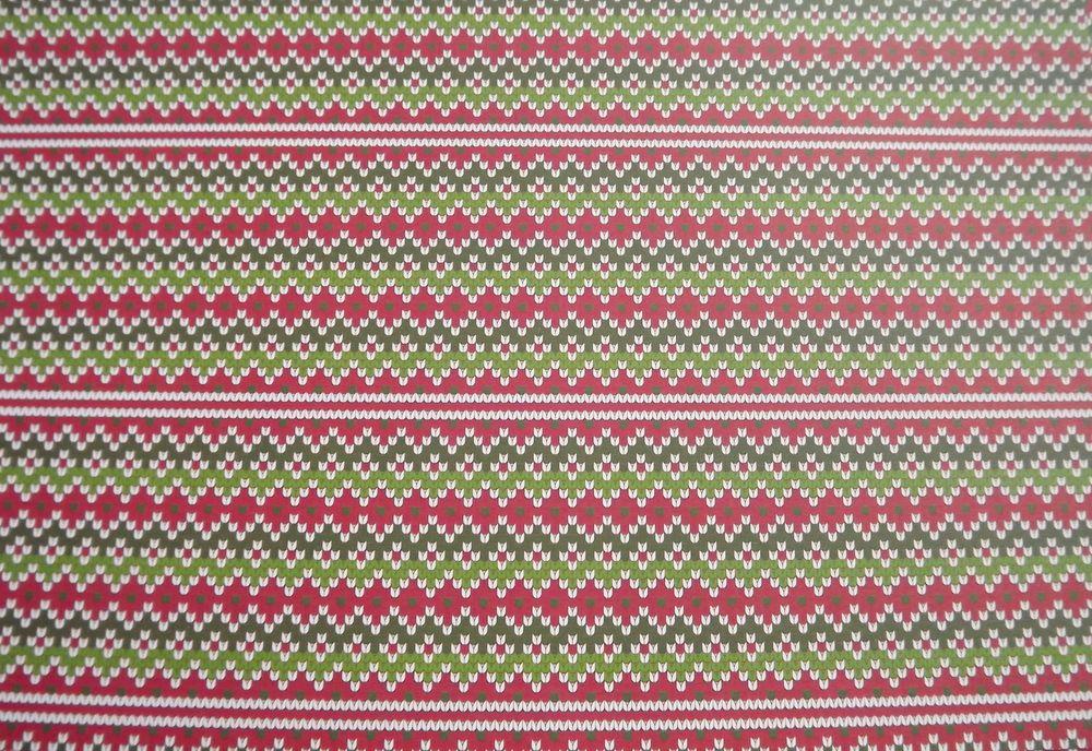 pletenina - oboustranná duhová A4