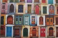 Dveře - fotokarton