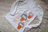 veselé barevné mufinky (zmrzlinky) ručně namalované na bílé řaseném tričku s dlouhým rukávem velikost 128
