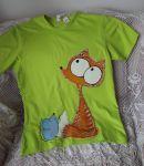 Tričko s liškou a myškou XL