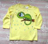 Chameleon na žlutém dívčím dr. 98