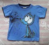 Modrý vlk na modrém tričku kr. 116