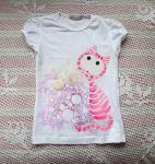 Jemná růžovobílá kočička kr. 116