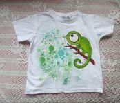Chameleon na bílém tričku kr. 116
