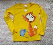 Žluté  triko Liška a myška dr.116