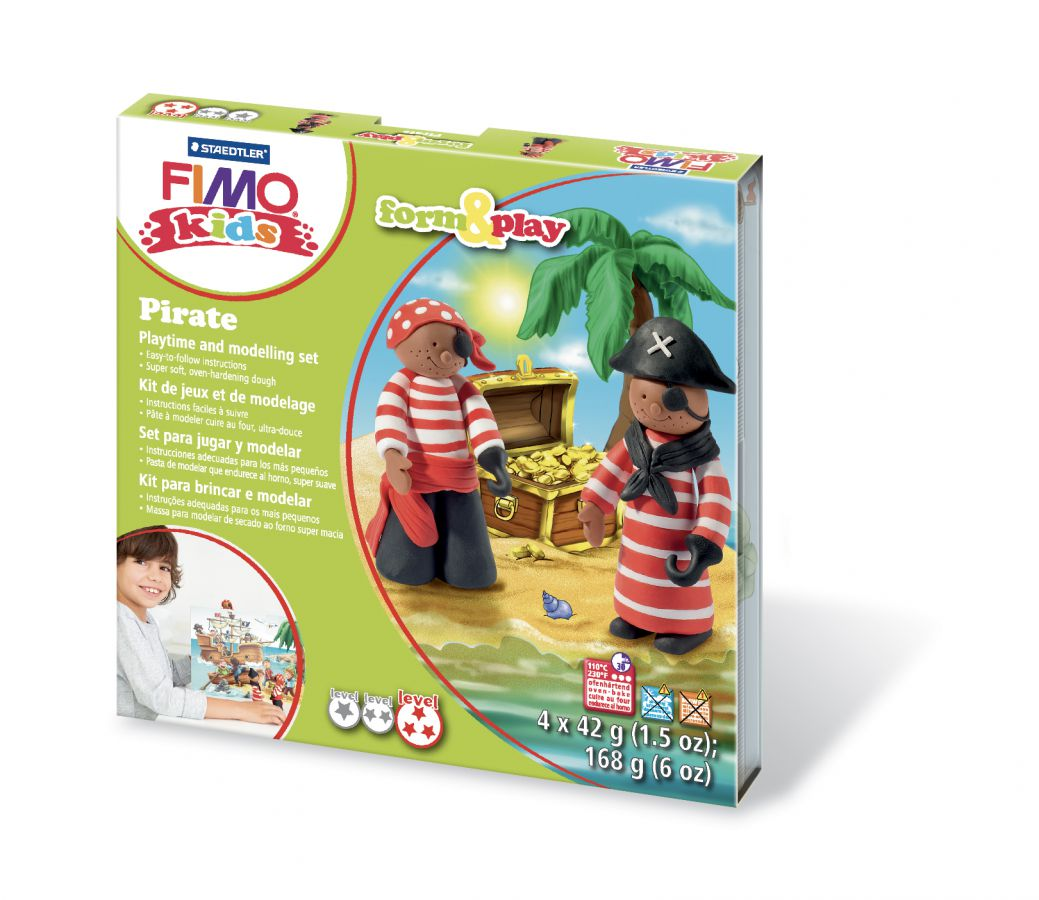 Kreativní sada netoxické modelovací hmoty FIMO kids STAEDTLER FIMO