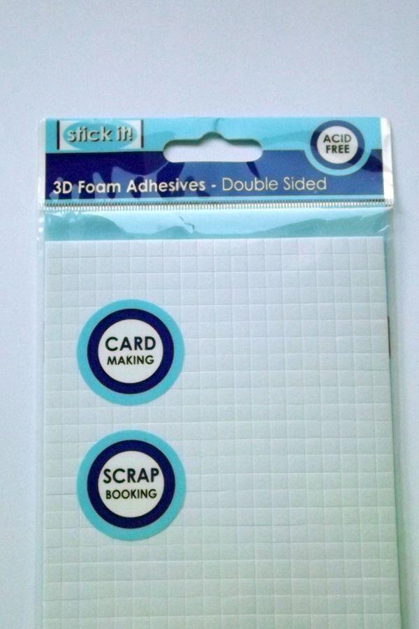 3D pěnové polštářky oboustranně lepící - scrapbook, cardmaking