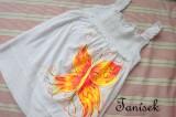 Ohnivý motýl 128