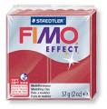 č.28 FIMO efekt - metalická rubínová