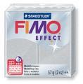 č.81 FIMO efekt - metalická stříbrná