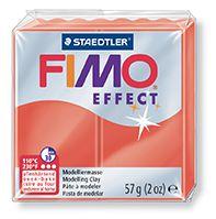FIMO efekt transparentní červená 57g STAEDTLER FIMO