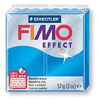 FIMO efekt transparentní modrá 57g STAEDTLER FIMO