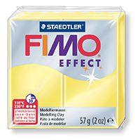 FIMO efekt transparentní žlutá 57g STAEDTLER FIMO