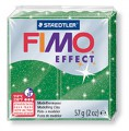 č.502 FIMO efekt - zelená se třpytkami