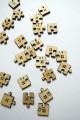 """Zvětšit fotografii - Dřevěné knoflíky """"Puzzle"""""""
