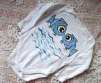 Zvětšit fotografii - Modré rybky body dr. 86