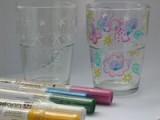 Zvětšit fotografii - Kreslení na skleničky