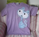 Zvětšit fotografii - Střapatá okatá fialová kočka M