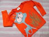 Zvětšit fotografii - Tyrkysový jelen na oranžovém 104
