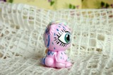 """Mutipoň pastelově růžový fimo poník, kůň ručně modelovaný a malovaný pro radost, pro štěstí Do dlaně Veronika """"Tanísek"""" Kocková"""