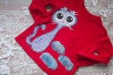 Fialová nebeská kočka 98