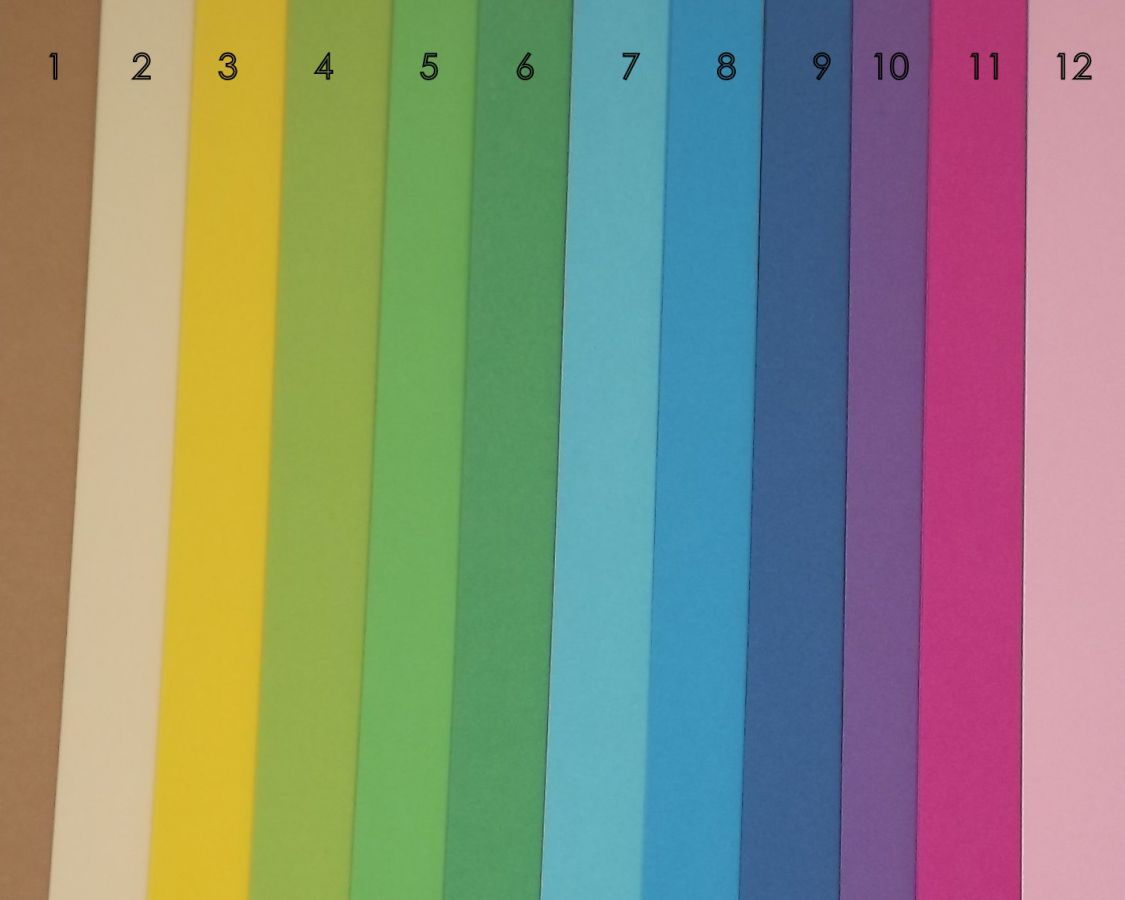 Fotokarton pastelově modrý jednobarevný - čtvrtka jednobarevná pastelově modrá bez potisku, 300g - vhodný na scrapbook, cardmaking, koláže, A4, přání, visačky, záložky