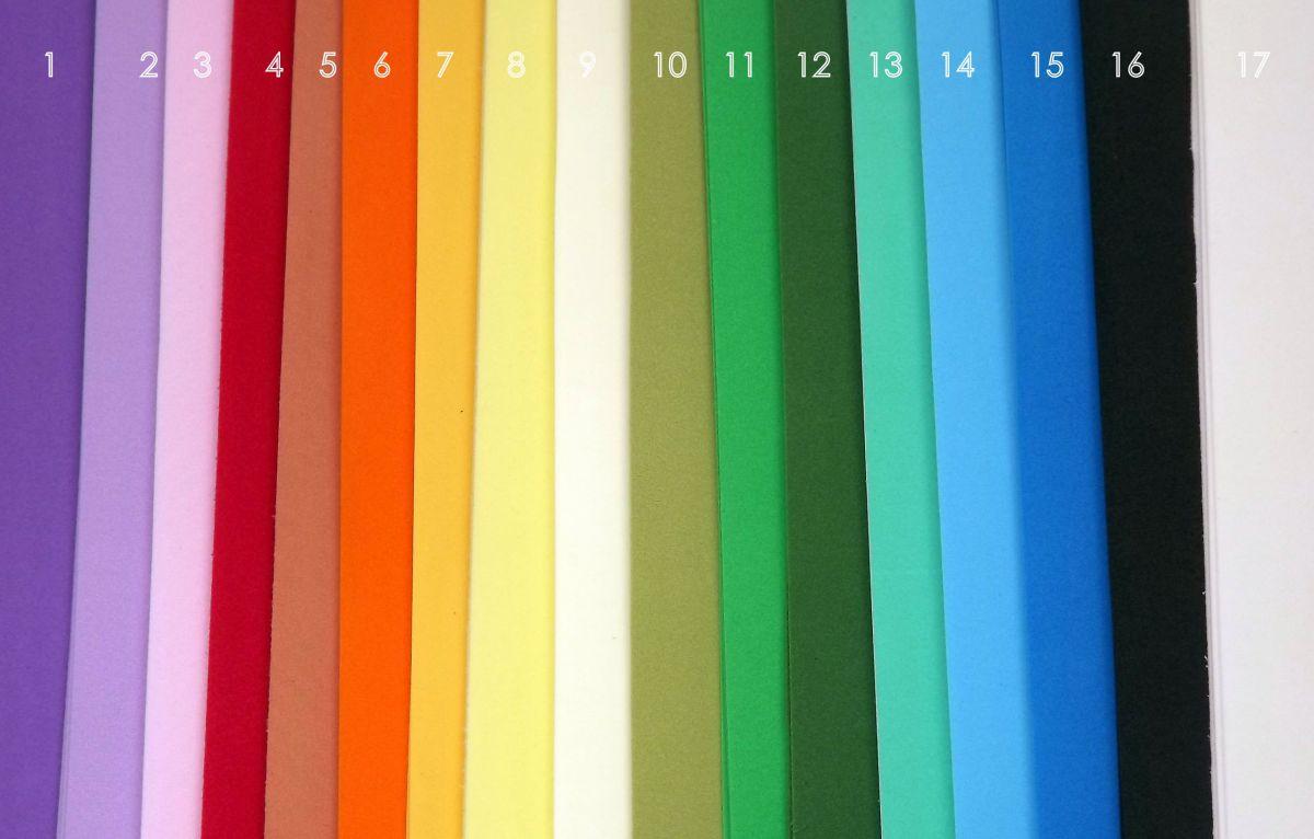 Lila - světle fialový (pastelová fialová) Foamiran - pěnová guma 30x35cm, šířka 0,8cm, pro tvorbu květin, listů, dekorací - vhodná pro cardmaking (přáníčka), scrapbooking (koláže), visačky, záložky, svatební dekorace, floristika