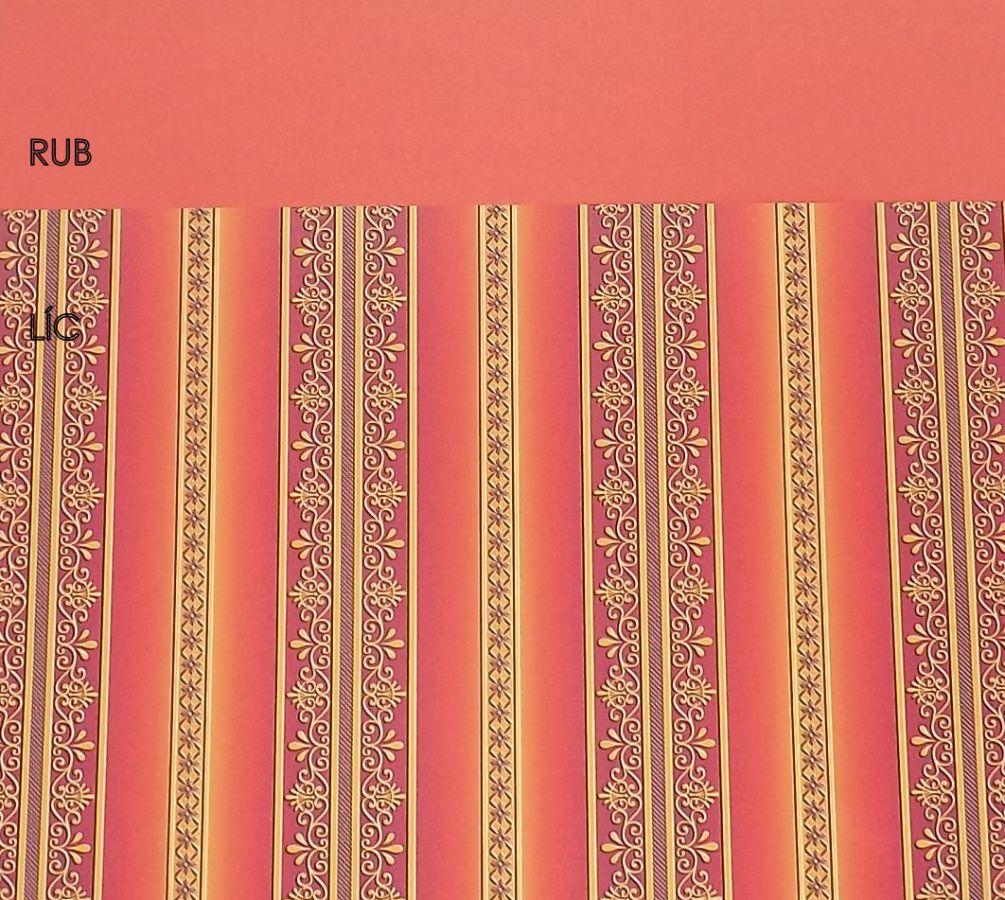 Bordura tonkarton 220g/m2 - oranžový