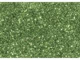 Jemné třpytky zelené