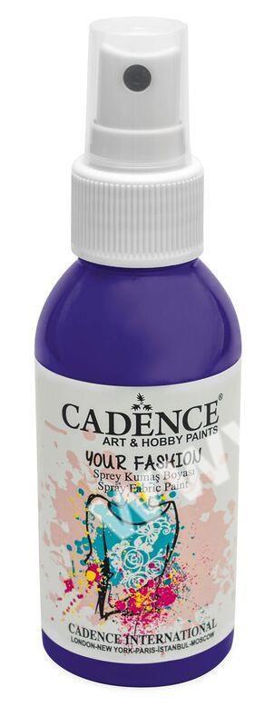 Fialová - Cadence - barevný sprej na textil - Your fashion - 100ml