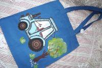 Traktor - látková taška přes rameno