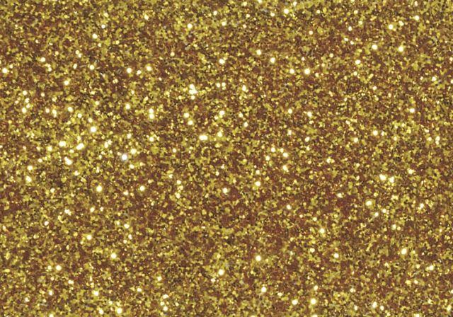 Jemné třpytky žluté zlato knorr prandell