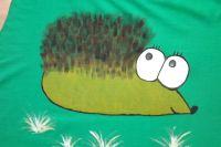 """Ježek pro velkého Ježka XxL - zelené triko s krátkým rukávem Veronika """"Tanísek"""" Kocková"""