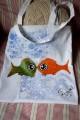 Zvětšit fotografii - Veselé rybky - taška
