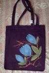Třpytivé magnolie - barevné tašky