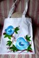 Zvětšit fotografii - Modraví ptáčci - taška