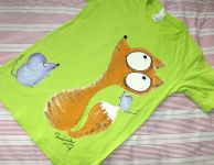 Liška a myška zelené kr 146