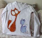 Liška a myšky dámské M dr
