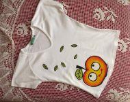 Jablíčko na tričko S