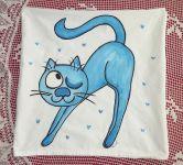 Povlak mrkající kočička