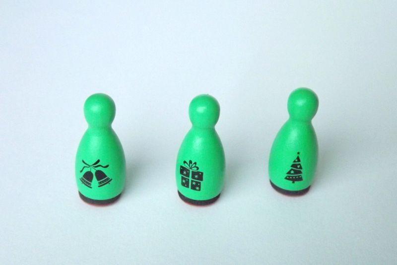 Razítko kuželka - vánoční - dárek