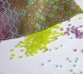 Šitý náramek - složitější vzory