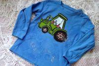 Traktor 98 modrý