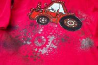 """Traktor 92 červený - červené či bílé triko s dlouhým rukávem Veronika """"Tanísek"""" Kocková"""