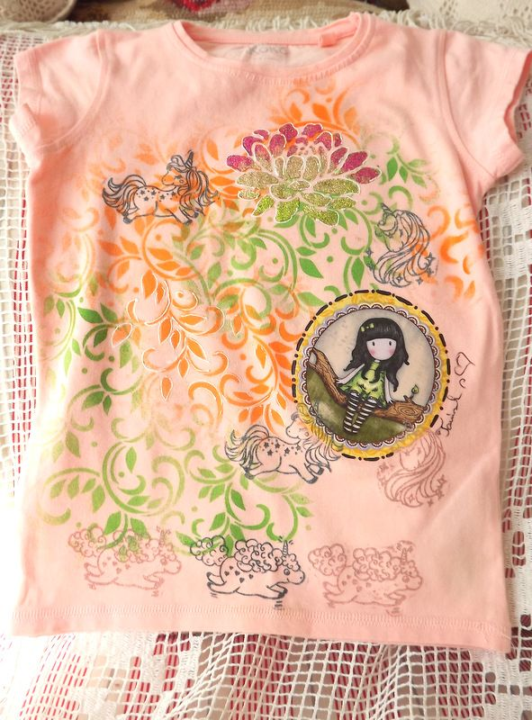 """Zasněná Dívka kr. 116 - růžové tričko Veronika """"Tanísek"""" Kocková"""