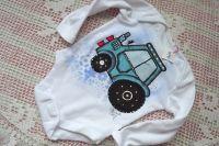 Traktory - krátký rukáv body 74